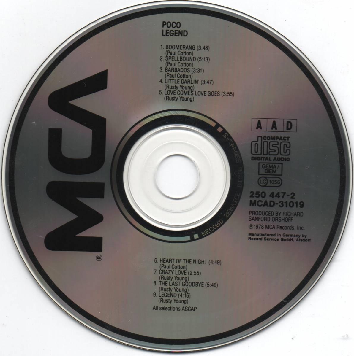 Poco: Legend - CD, Re-Release
