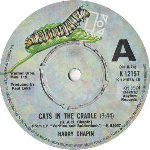 cats in the cradle by harry chapin Watch video  a story of how a father neglected his son and his son grew up to be just like him.