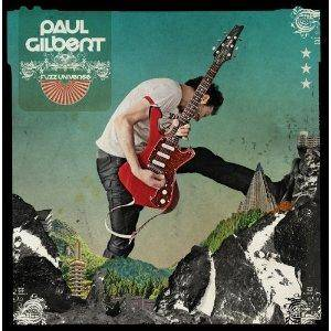 Paul Gilbert: Fuzz Universe - Cover
