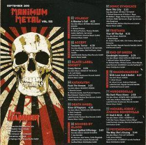 Metal Hammer - Maximum Metal Vol. 155 (CD) - Bild 2
