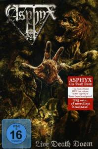 Asphyx: Live Death Doom (DVD + 2-CD) - Bild 1