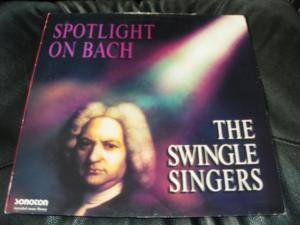 Cover - Swingle Singers, The: Spotlight On Bach