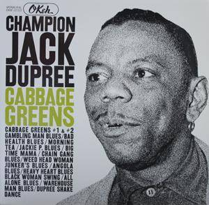 Cover - Champion Jack Dupree: Cabbage Greens