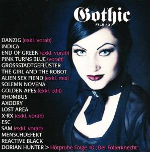 Gothic File 12 - Cover