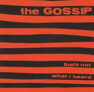 Cover - Gossip: Thats Not What I Heard