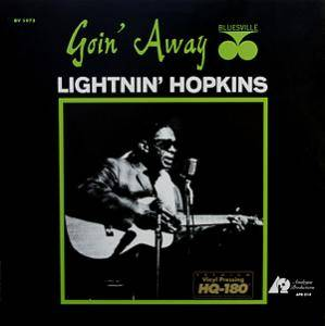 Cover - Lightnin' Hopkins: Goin' Away