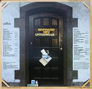 Reinhard Mey: Unterwegs (2-LP) - Bild 2
