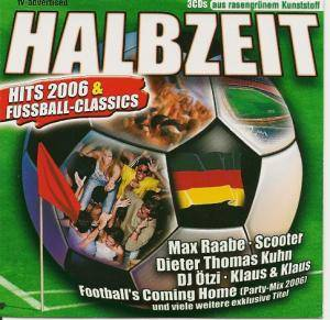 Cover - Partynator Peter Wackel: Halbzeit - Hits 2006 & Fussball-Classics