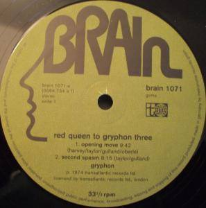 Gryphon: Red Queen To Gryphon Three (LP) - Bild 3
