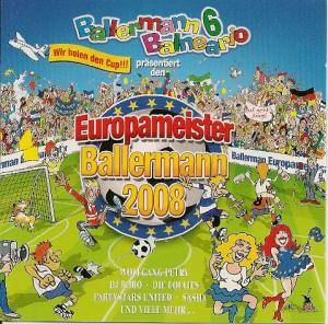Cover - Ida Corr Vs. Fedde le Grand: Ballermann 6 Europameister Ballermann 2008