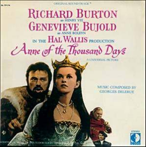 Cover - Georges Delerue: Anne Of The Thousand Days