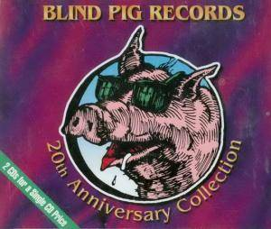Cover - Debbie Davies: Blind Pig Records - 20th Anniversary Collection