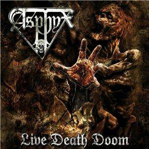 Asphyx: Live Death Doom - Cover