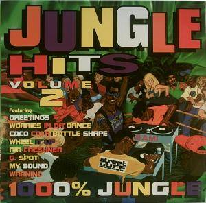 Cover - Remarc: Jungle Hits Volume 2