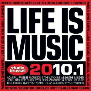Studio Brussel - Life Is Music 2010.1 - Cover