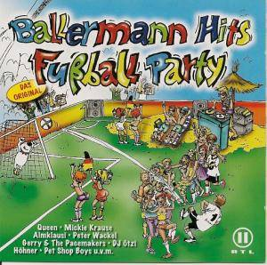 Cover - Baddiel, Skinner & Lightning Seeds: Ballermann Hits Fußball-Party