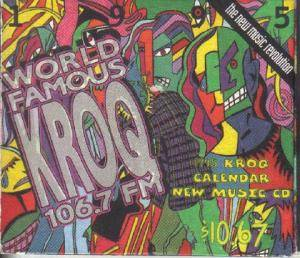 Cover - Murmurs, The: 1995 KROQ Calendar _ New Music CD