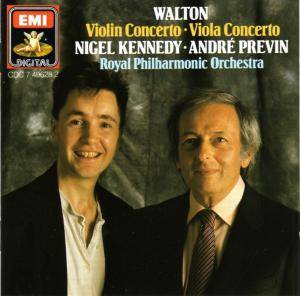 Cover - William Walton: Viola Concerto • Violin Concert