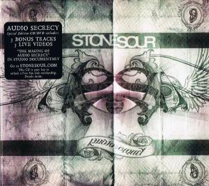 Stone Sour: Audio Secrecy (CD + DVD) - Bild 7