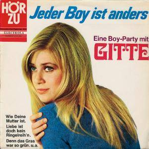 Gitte: Jeder Boy Ist Anders - Cover