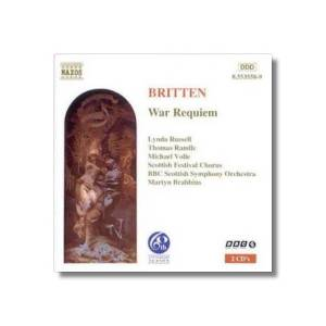 Benjamin Britten: War Requiem - Cover