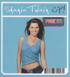 Shania Twain: Up! - Cover