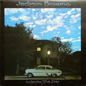 Jackson Browne: Late For The Sky - Cover