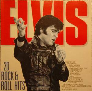 Elvis Presley: 20 Rock & Roll Hits - Cover