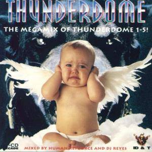 Cover - Square Dimensione: Thunderdome - The Megamix Of Thunderdome 1-5!