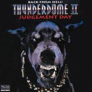 Thunderdome II: Back From Hell! - Judgement Day - Cover