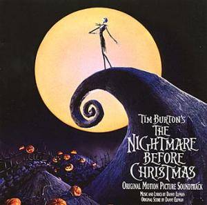 Danny Elfman: Tim Burton's The Nightmare Before Christmas - Cover