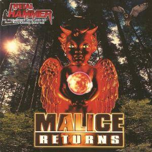 Malice Returns - Cover