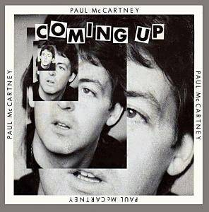 Paul McCartney: Coming Up - Cover