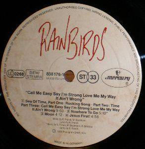 Rainbirds: Call Me Easy Say I'm Strong Love Me My Way It Ain't Wrong (LP) - Bild 6