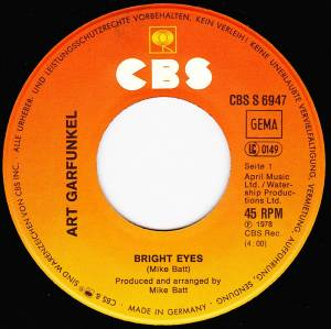 "Art Garfunkel: Bright Eyes (7"") - Bild 3"