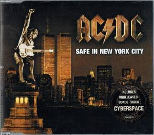 AC/DC: Safe In New York City - Cover