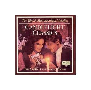 Cover - Gustave Charpentier: Candlelight Classics: The London Promenade Orchestra