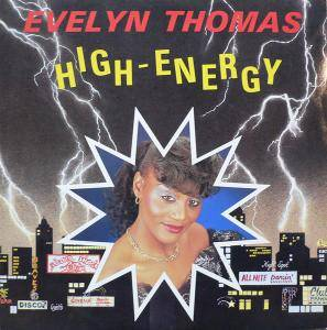 Evelyn Thomas: High Energy - Cover