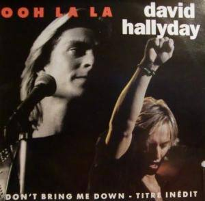 David Hallyday: Ooh La La - Cover