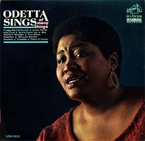 Cover - Odetta: Odetta Sings Of Many Things