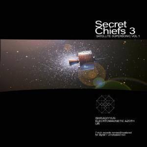 Secret Chiefs 3: Satellite Supersonic Vol. 1 - Cover