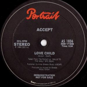 Cover - Accept: Love Child