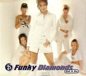 Cover - Funky Diamonds: Get It On