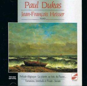 Cover - Paul Dukas: Complete Piano Works