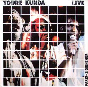 Touré Kunda: Live: Paris-Ziguinchor - Cover