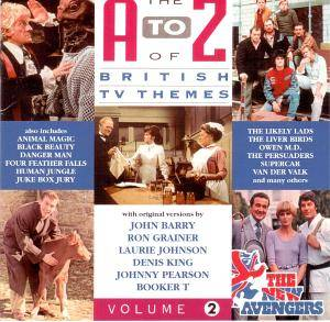 To Z Of British TV Themes - Volume 2, A - Cover