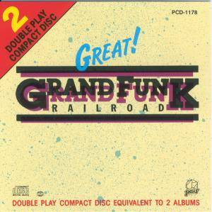 Cover - Grand Funk Railroad: Great!
