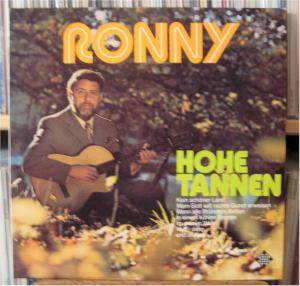 Cover - Ronny: Hohe Tannen