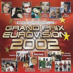 Cover - Ireen Sheer & Bernhard Brink: Countdown Grand Prix Eurovision 2002