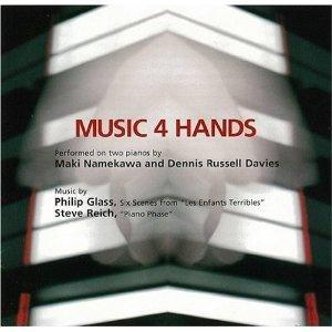 Steve Reich, Philip Glass: Music 4 Hands - Cover